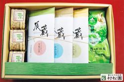辰蔵のお茶+栗ようかんセット